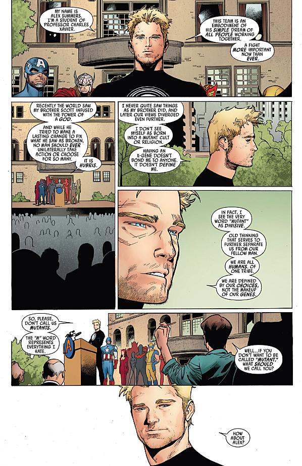 Avengers Assimilate: Identity Politics in 'Uncanny Avengers'
