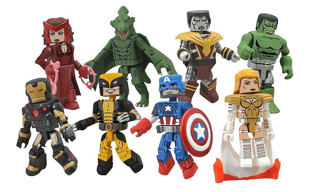 Marvel Minimates TRU Toys R Us Wave 16 Wolverine /& Reaper