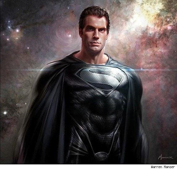 Man Of Steel' Conceptual Artists Reveal Alternate Costume