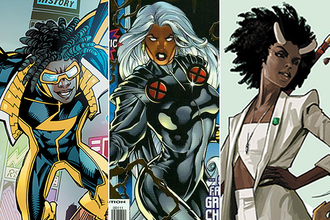 20 Great Black Comic Book Characters