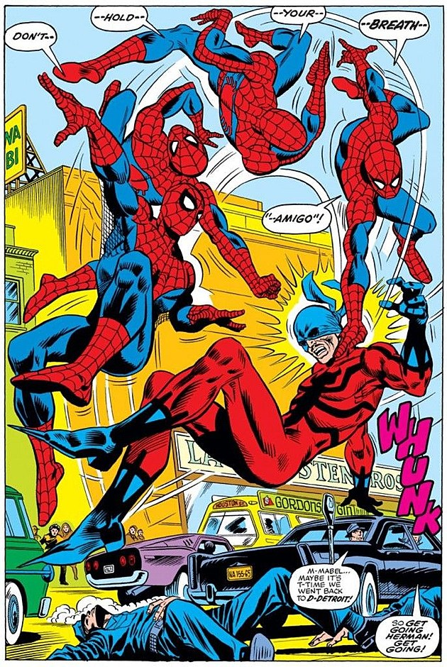 The Artist's Spider-Man: Ross Andru's Kinetic Consistency