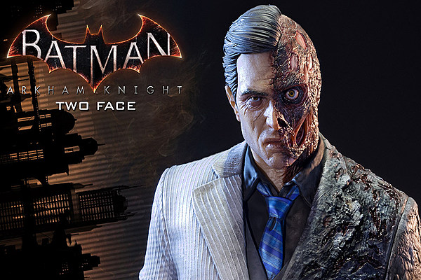 start saving your money for this arkham knight twoface statue