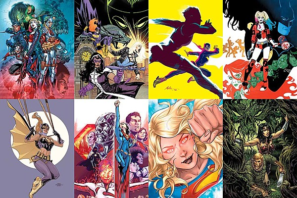 Dc And Vertigo Comic Book Releases For August 2016