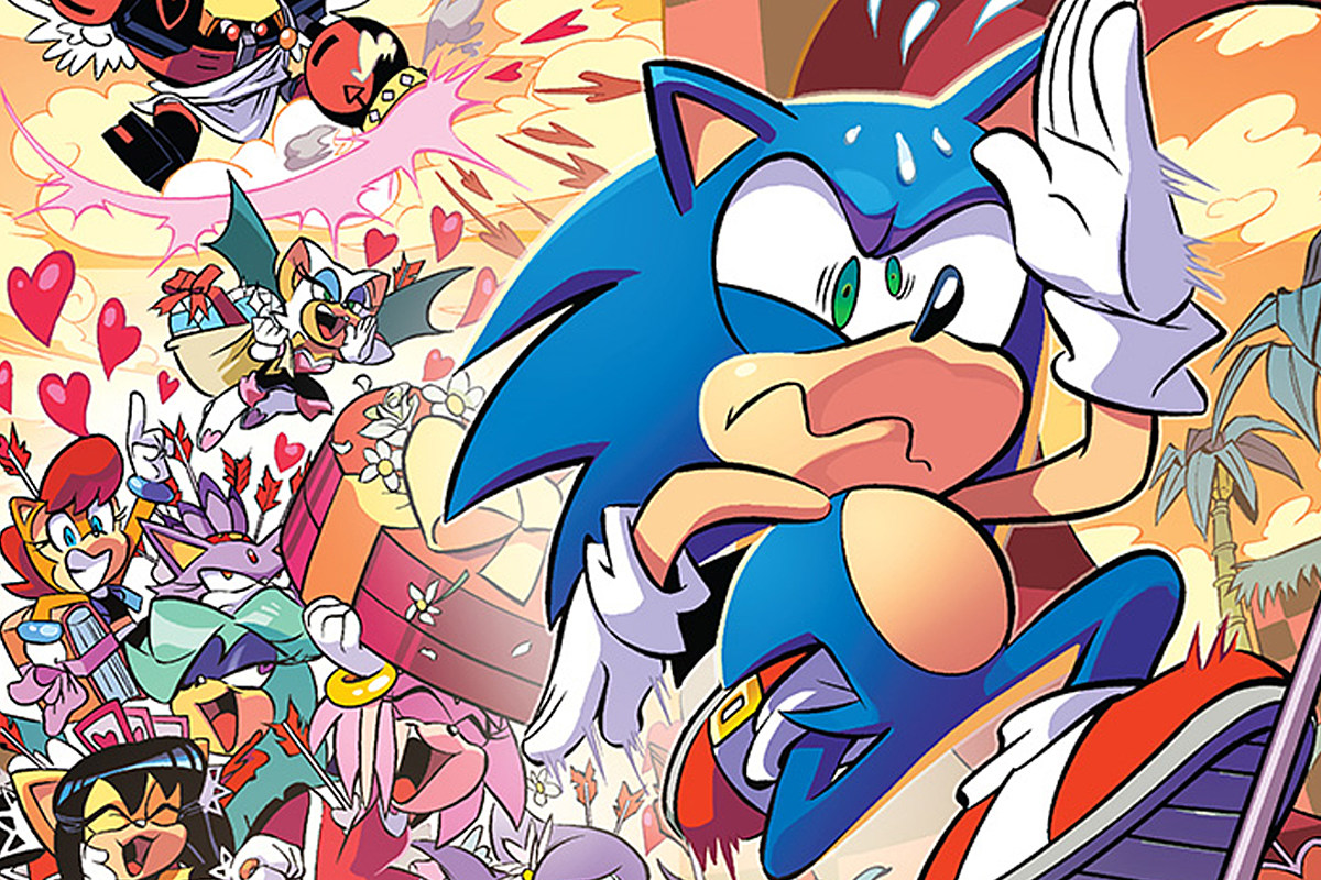 Sonic The Hedgehog 281 Preview