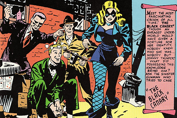 Fists and Fishnets: Celebrating the Golden Age Black Canary