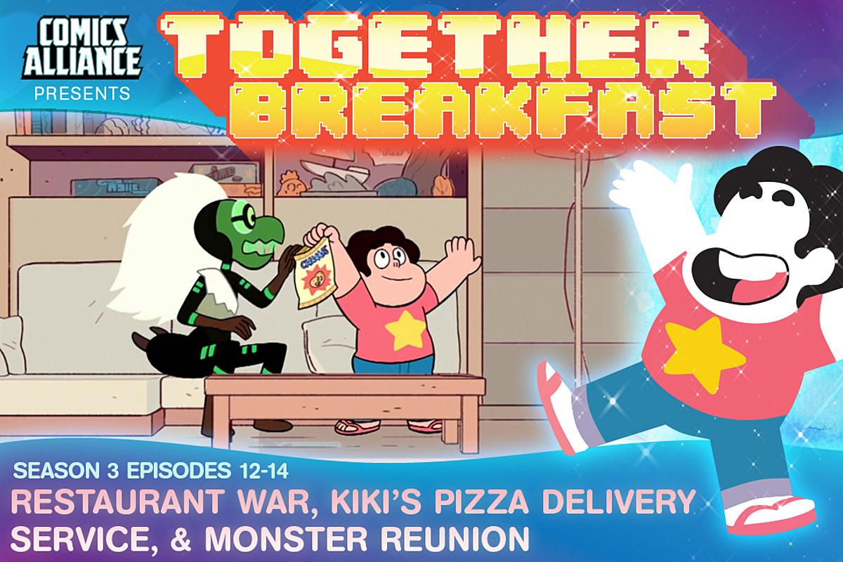 Steven Universe Restaurant Wars To Monster Reunion Somos la cadena de pizzerías con la imagen de marca. steven universe restaurant wars to