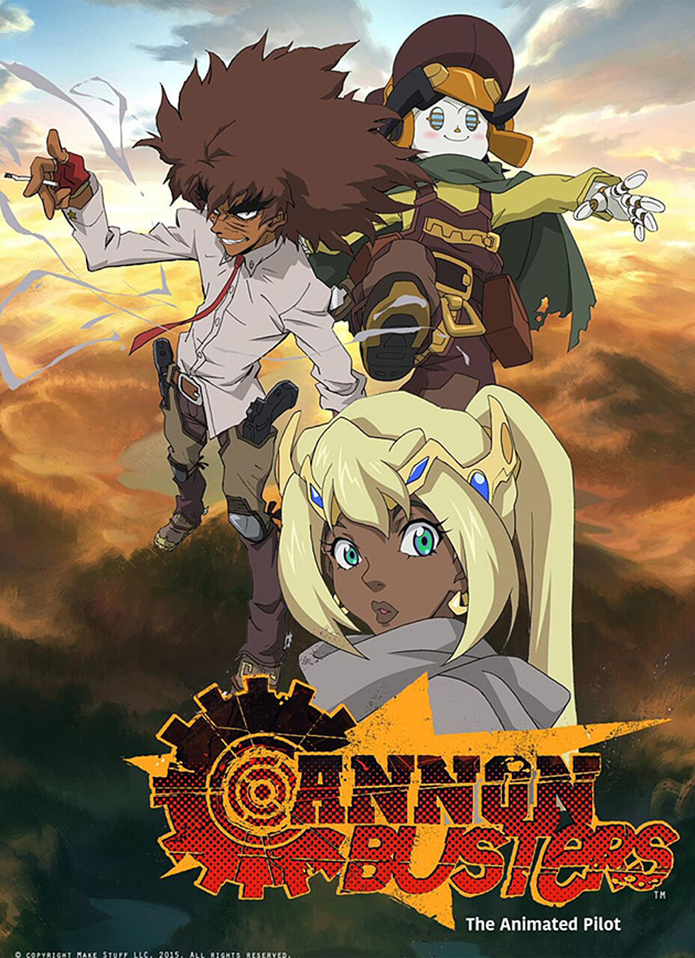 black fantasy characters lesean thomas on 'cannon busters' and black fantasy characters
