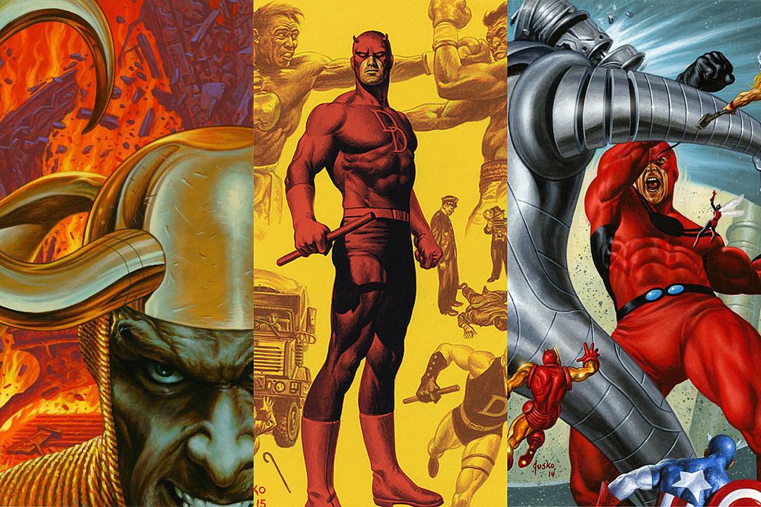 BASE SET 1 Ultimate Spider-Man Card Marvel Masterpieces 2016 Joe Jusko #//1999