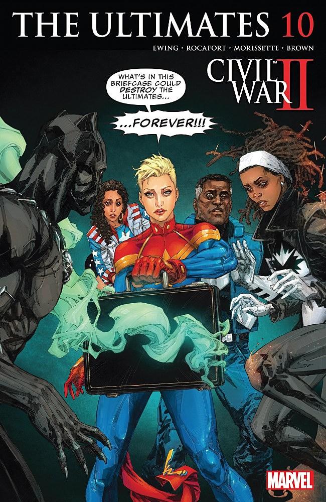 ULTIMATES #11 MARVEL COMICS CIVIL WAR II NOVEMBER 2016