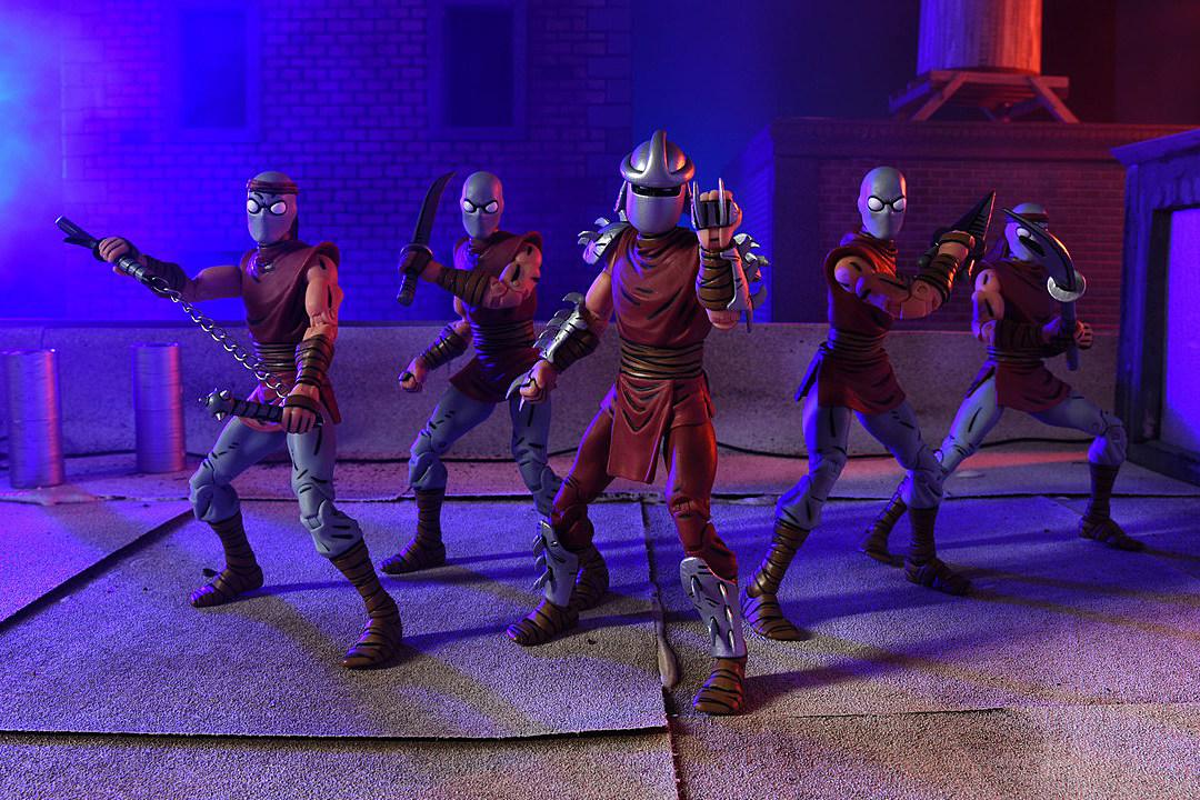 NECA Foot Clan NYCC 2016 Teenage Mutant Ninja Turtles Shredder soldier set