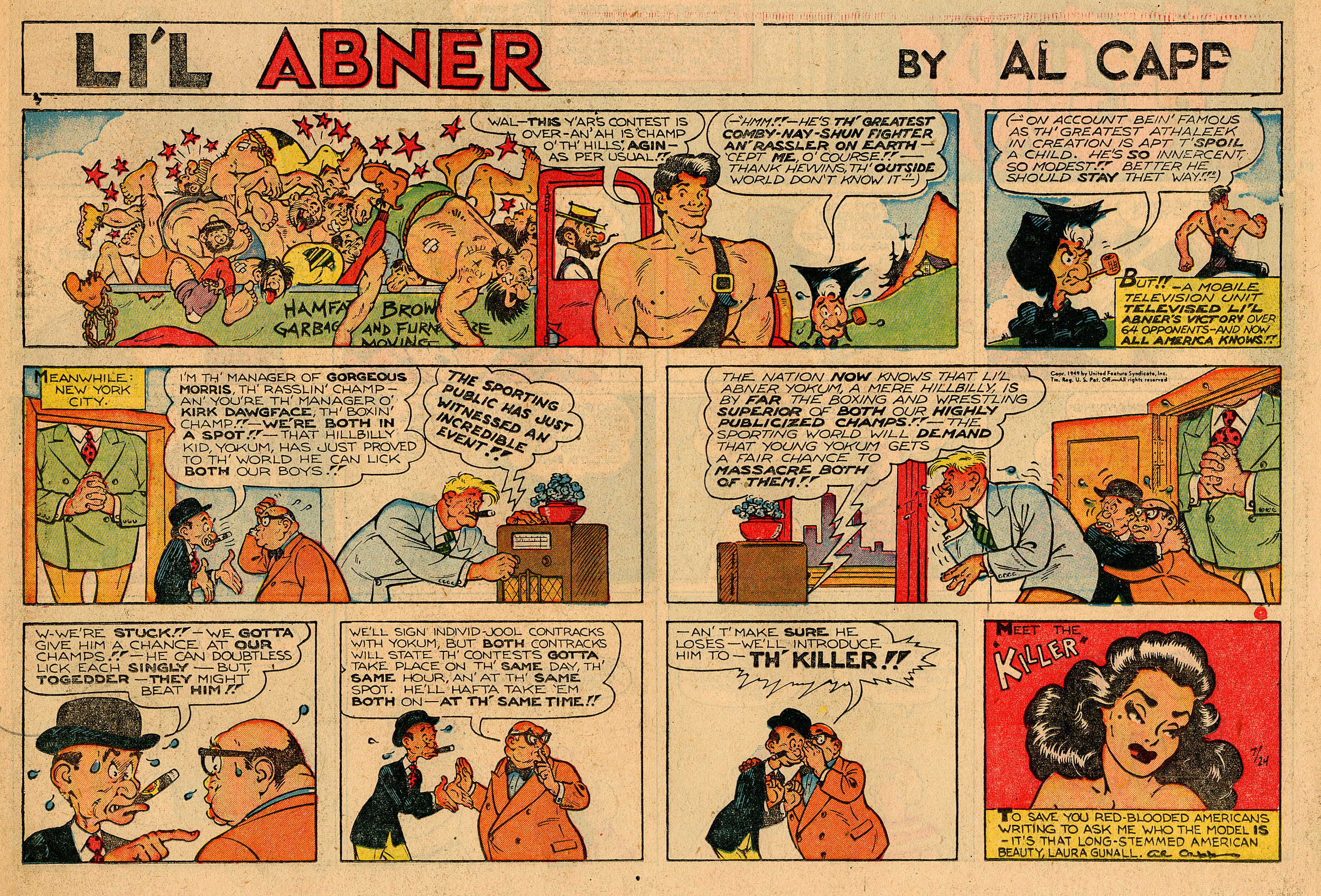 Howdy from Dogpatch: The Life and Work of Al Capp