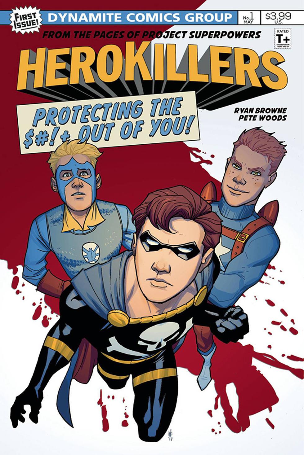 Ryan Browne And Pete Woods On Their Super Satire Hero Killers