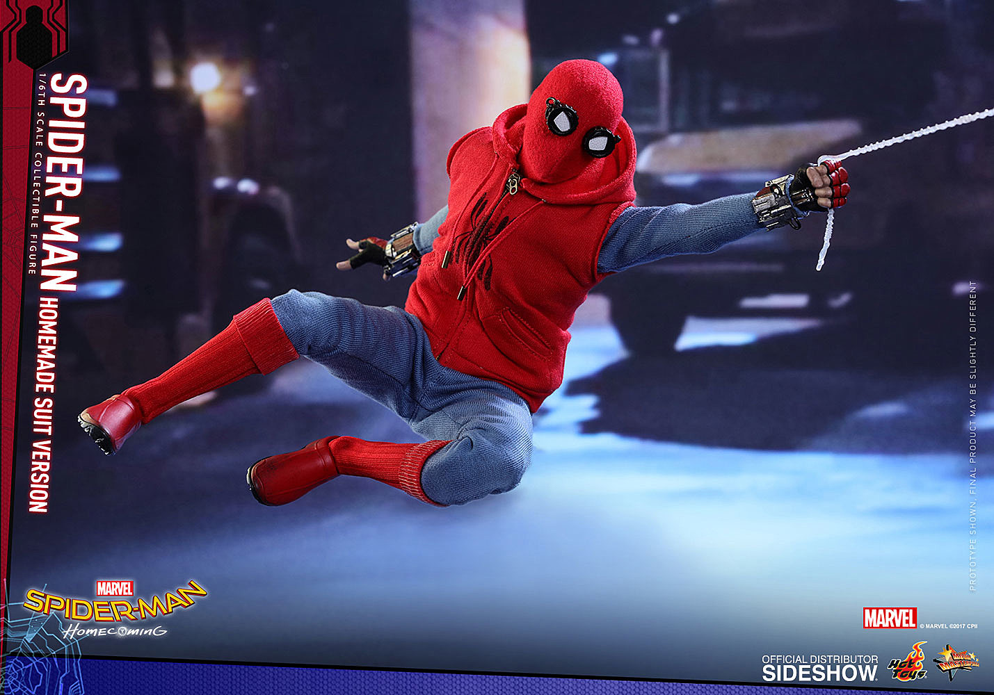 Hot Toys Goes Homemade With First Spider Man Homecoming Figure