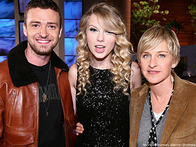 Taylor Swift Is Guest Of Honor On Special Ellen Show