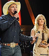 Garth Brooks and Carrie Underwood Grande Ole Opry