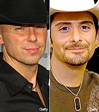 Kenny Chesney and Brad Paisley