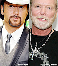 Tim McGraw and Gregg Allman
