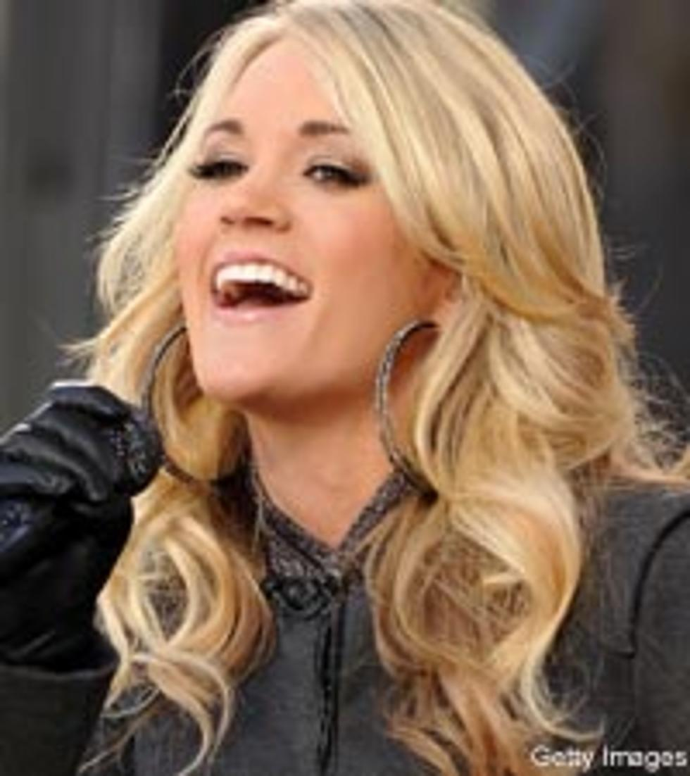 Carrie Underwood Giving Up Her Singing Career