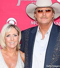 Alan Jackson and Denise Jackson