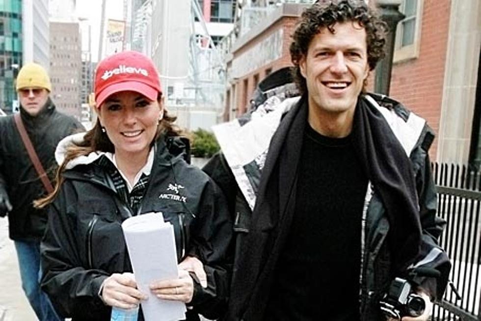 Mutt Lange And Marie Anne Thiebaud Wedding.Shania Twain Is Engaged