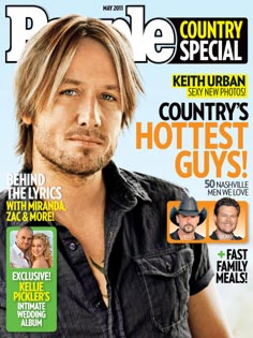 Keith Urban Named Country S Hottest Guy