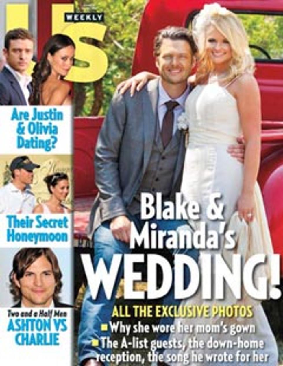 Blake Shelton And Miranda Lambert Wedding.Blake Shelton Miranda Lambert Fill Wedding With Music