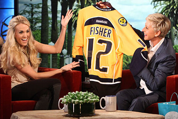 Carrie Underwood On Ellen Country Star Talks Home Life