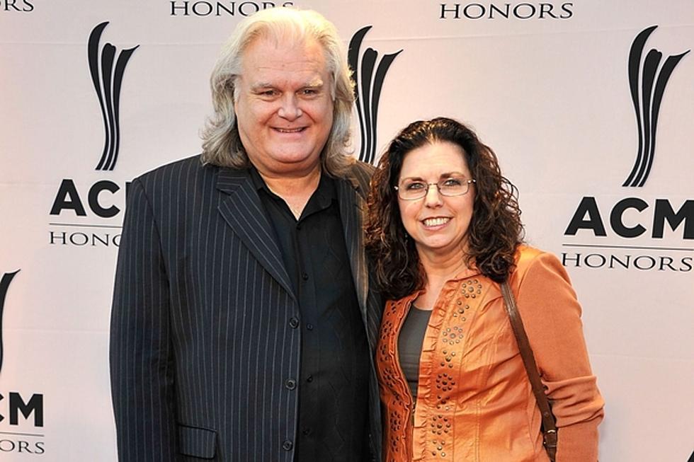 Ricky Skaggs med talentfull, Kone Sharon White