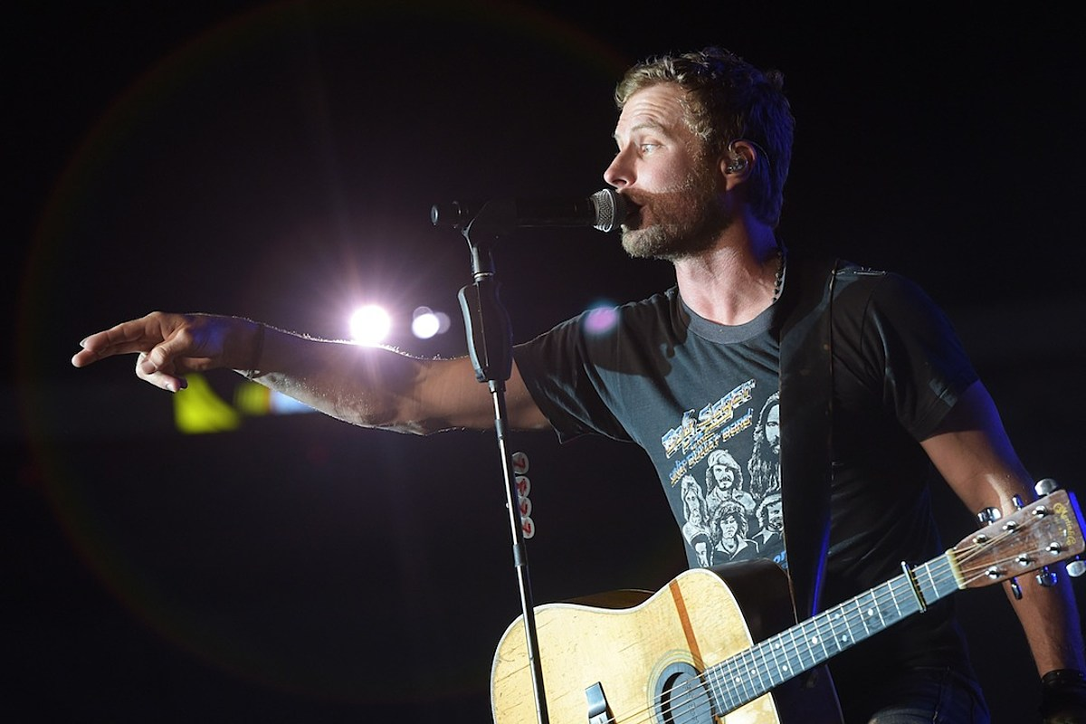 Who Was Dierks Bentley's First Concert?