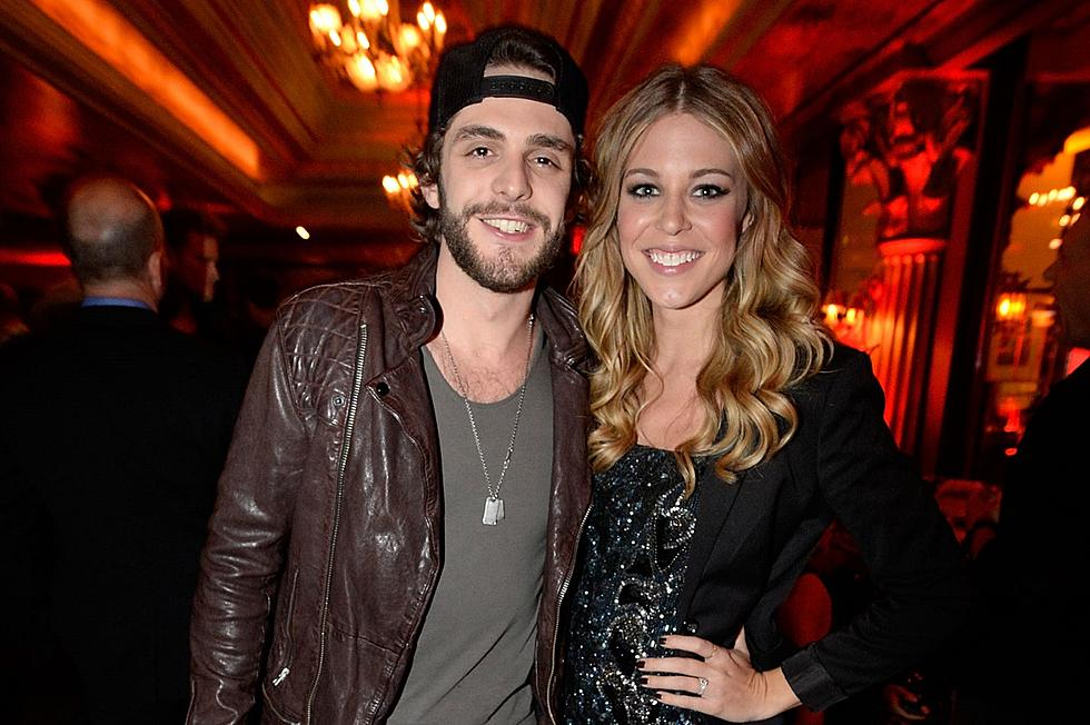 Thomas Rhett And Wife 2015