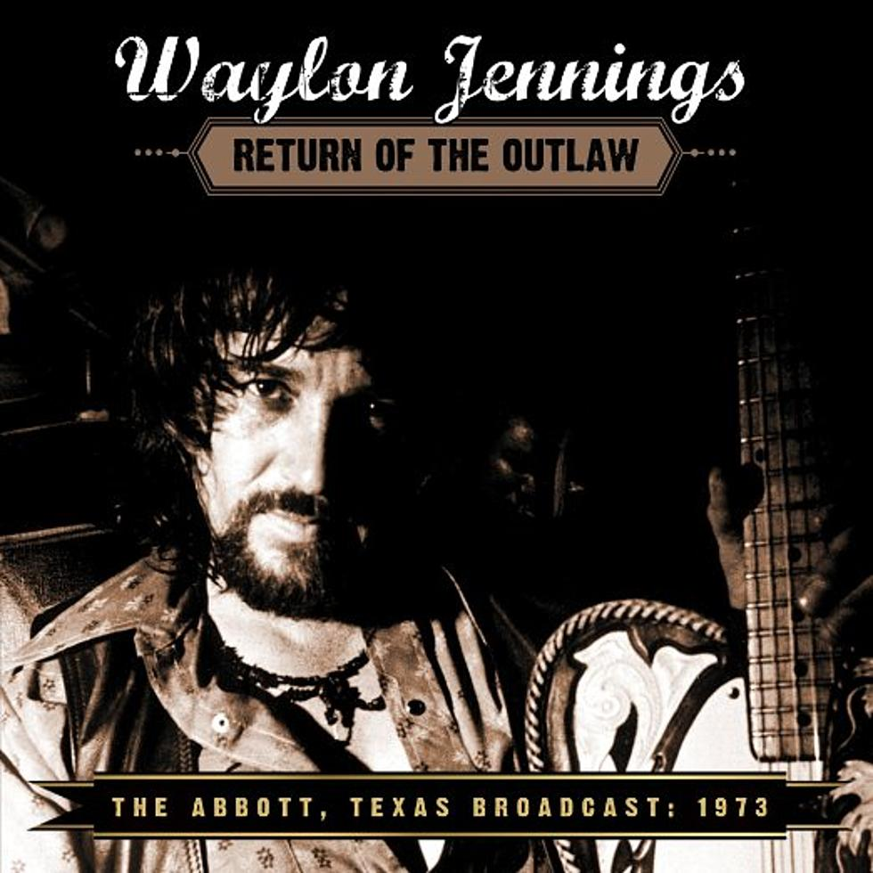 New Waylon Jennings Live Album Set for Release in March