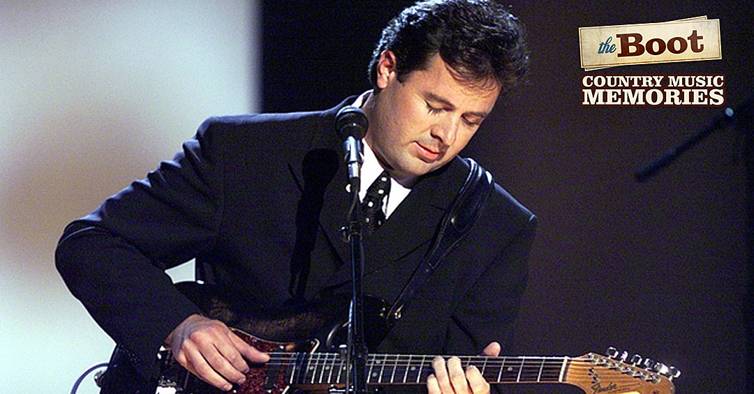 Country Music Memories Vince Gill Earns First No 1 Hit