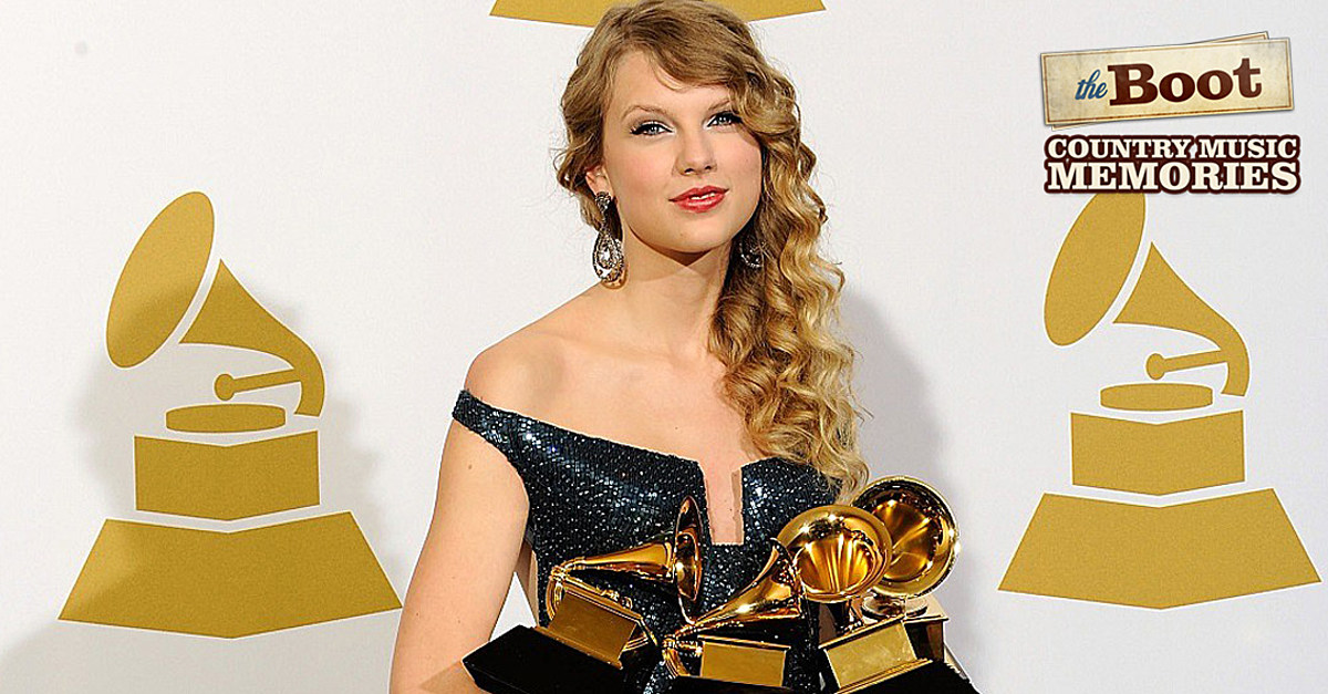 Country Music Memories: Taylor Swift Sets a Grammys Record