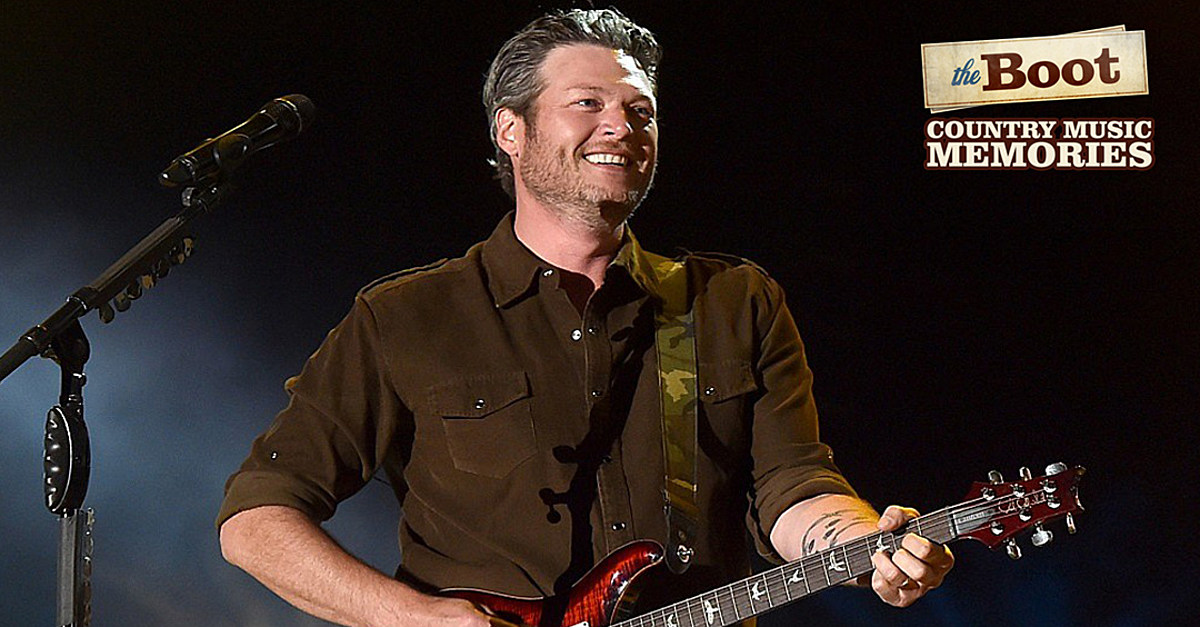 19 Years Ago: Blake Shelton Makes His Grand Ole Opry Debut