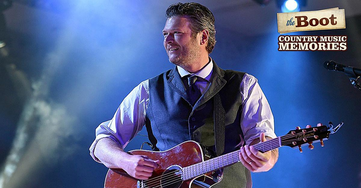 Country Music Memories: Blake Shelton Is Born in Ada, Okla