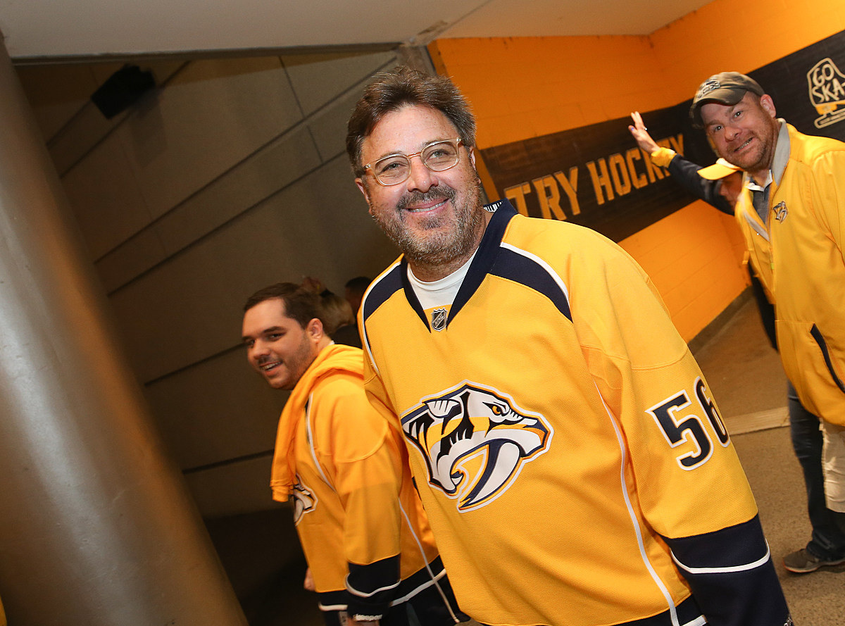 WATCH: Vince Gill Sings National Anthem for Nashville Predators vs. Dallas Stars Game 2