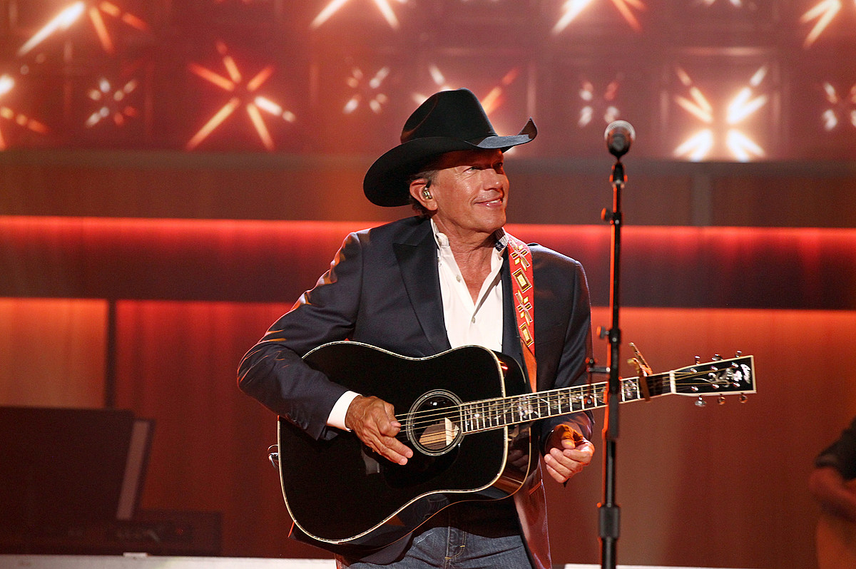 George Strait Drops Brand-New Song, 'God and Country Music'