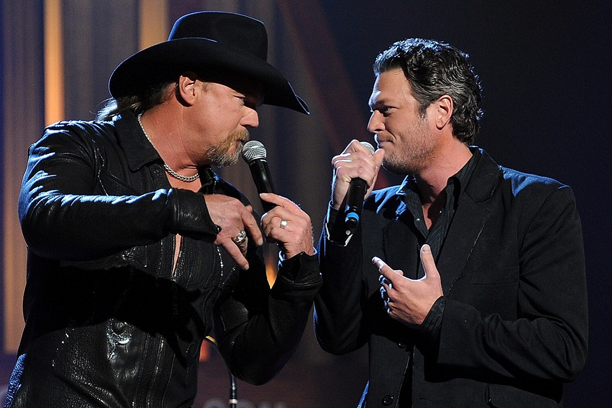 Blake Shelton + Trace Adkins Raise 'Hell Right' in New Single [LISTEN]