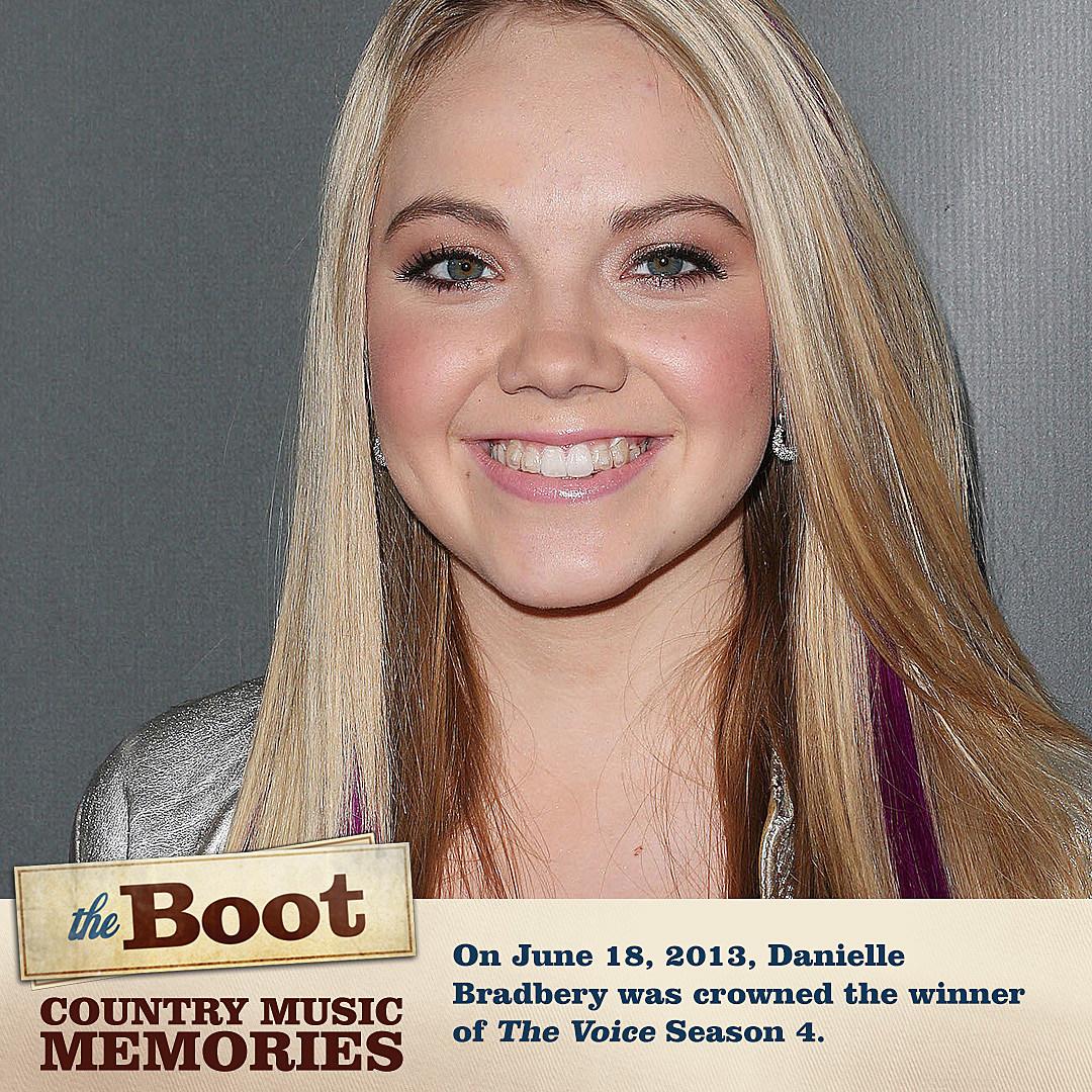 Country Music Memories: Danielle Bradbery Wins 'The Voice'