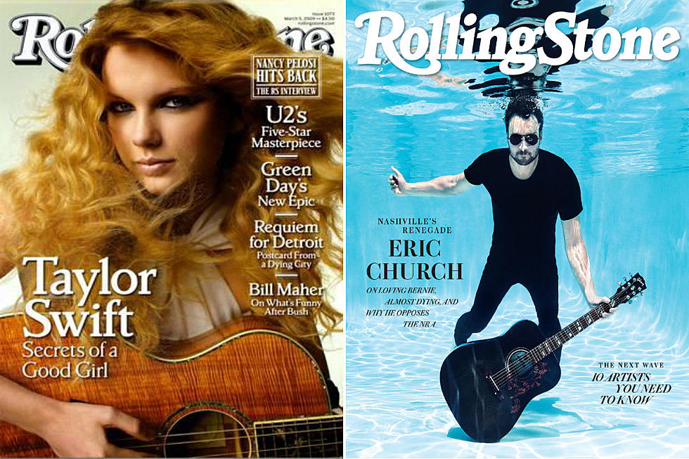 Country Stars Who Have Been On The Cover Of Rolling Stone