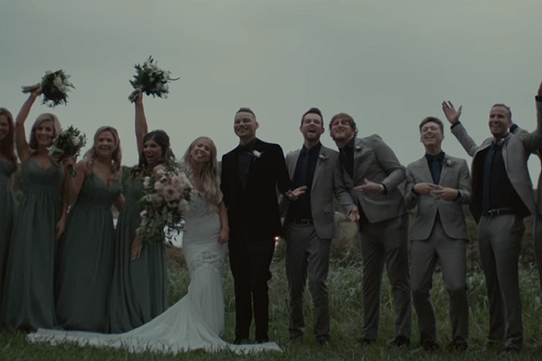 d02c8d91f3f Kane Brown Turns Wedding Into  Good as You  Music Video  WATCH