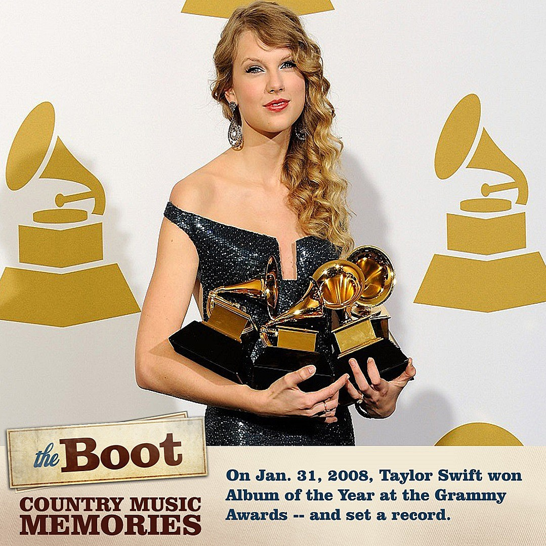 87e27923 9 Years Ago: Taylor Swift Sets a Record With Grammys Album of the Year Win