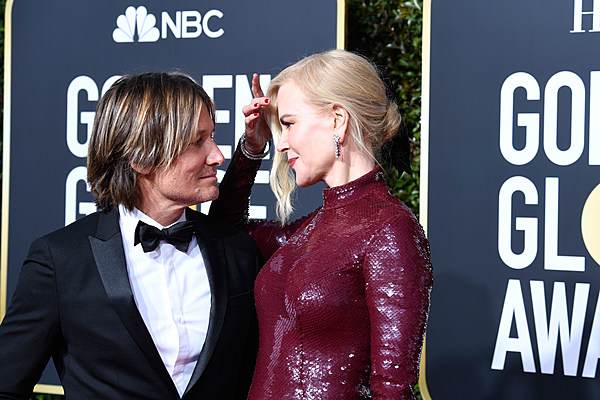 2019 Golden Globes Keith Urban Nicole Kidman On The Red