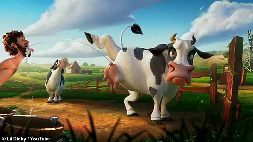 Zac Brown Plays Cartoon Cow in Lil Dicky's 'Earth' Music Video