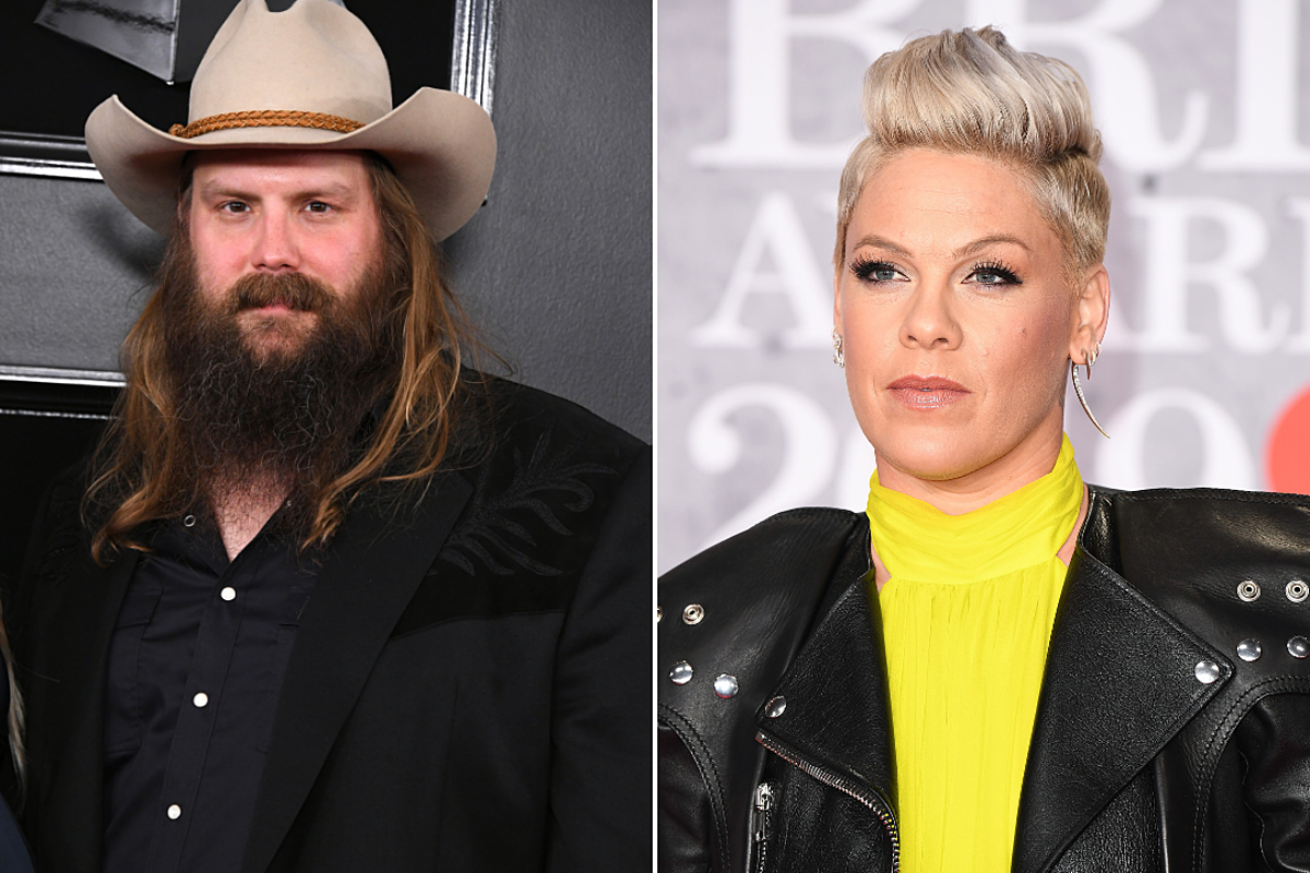 news roundup chris stapleton is collaborating with pink more. Black Bedroom Furniture Sets. Home Design Ideas
