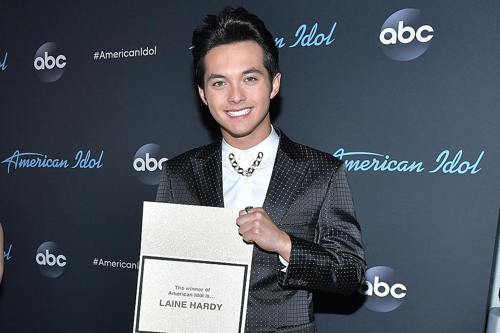 how old is laine hardy american idol