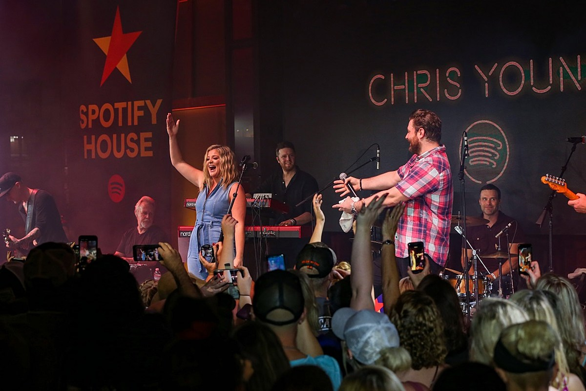 LISTEN: Chris Young, Lauren Alaina Team for New Song, 'Town Ain't Big Enough'