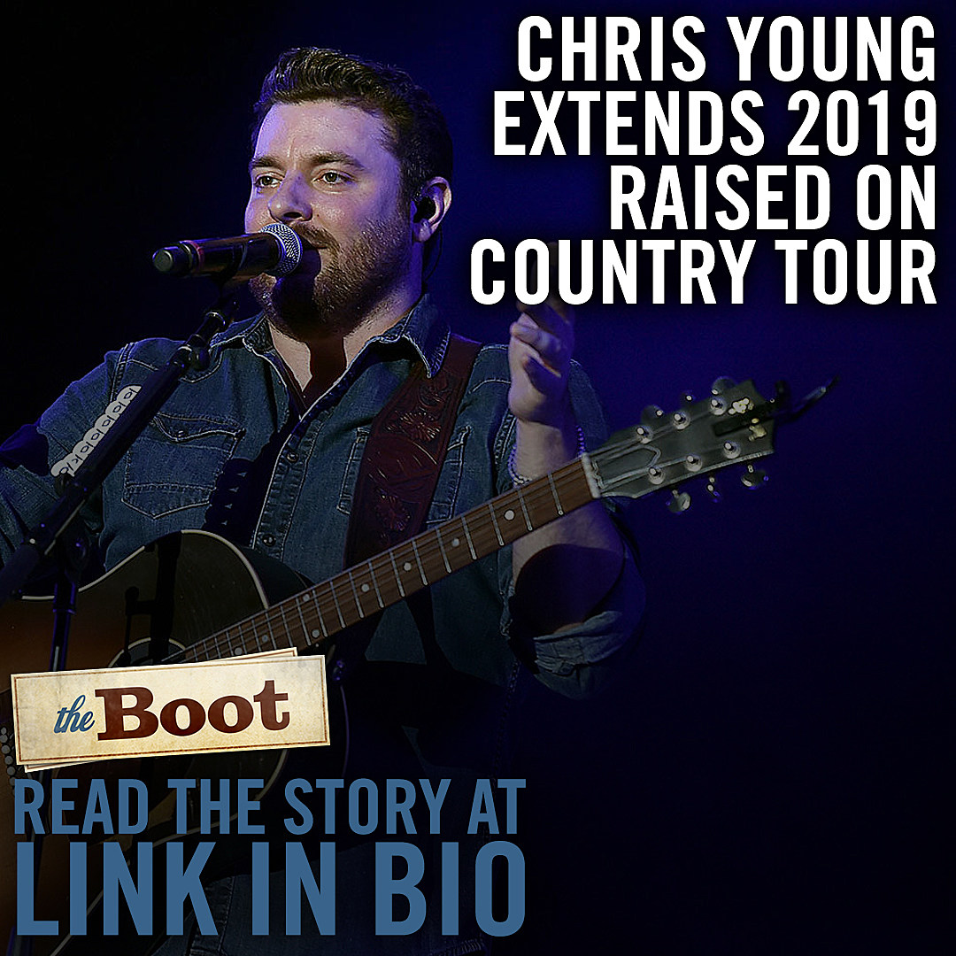 Chris Young Extends Raised on Country Tour 2019