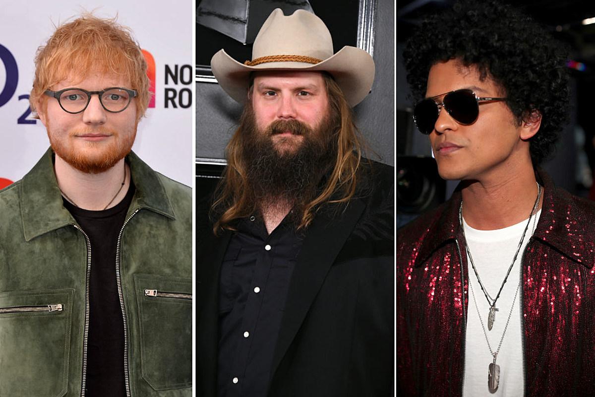 Ed Sheeran, Bruno Mars + Chris Stapleton's 'Blow' + 3 More New Music Videos