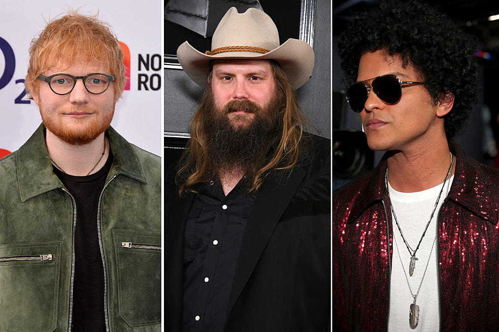48596d675a5 Ed Sheeran, Bruno Mars + Chris Stapleton's 'Blow' + 3 More Videos